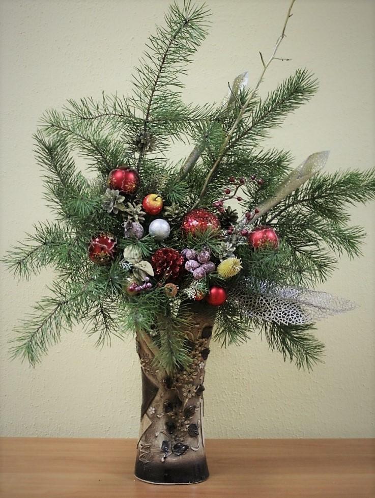 Букетов москве, новогодний букет вместо елки фото